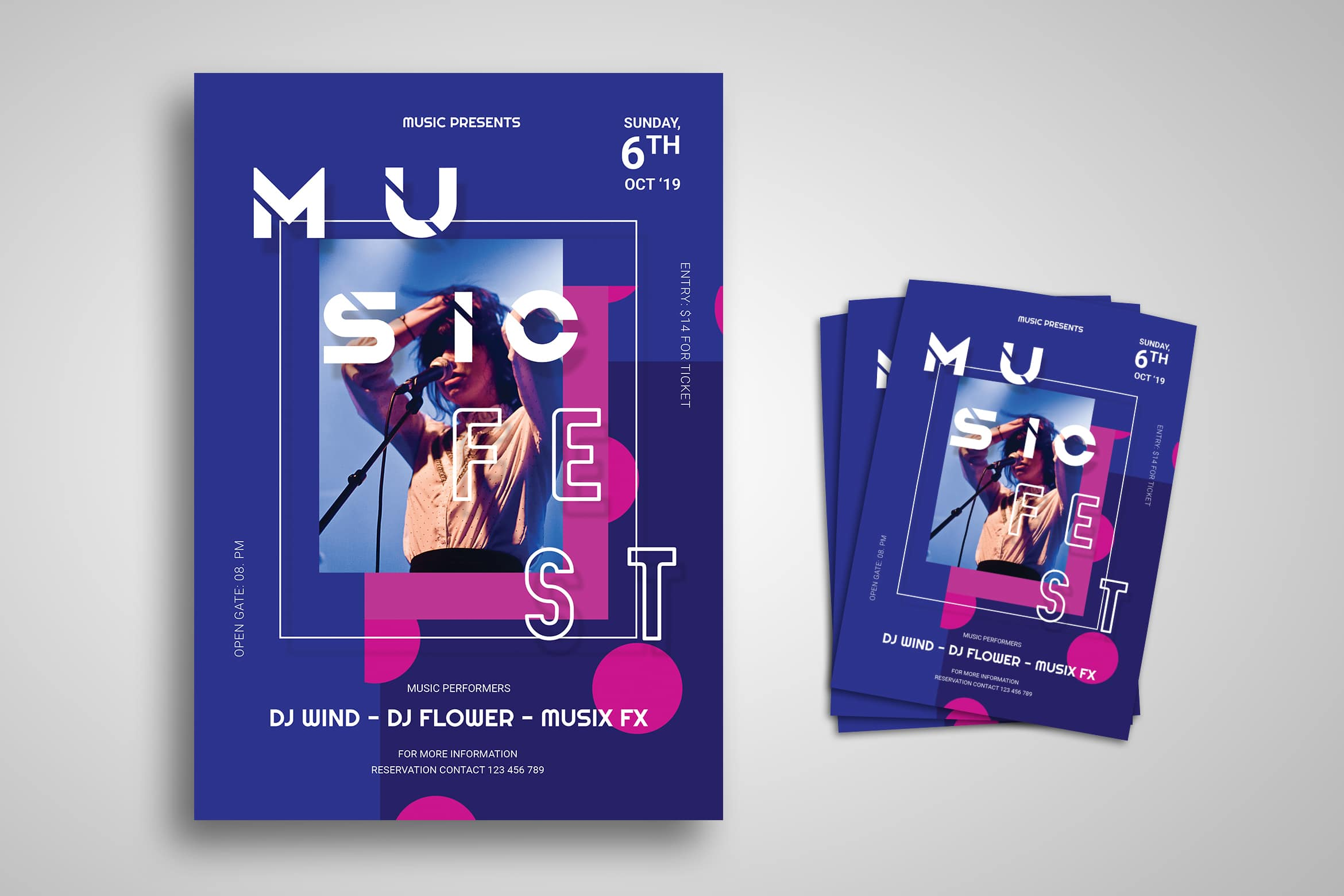 Flyer Template - Music Festival