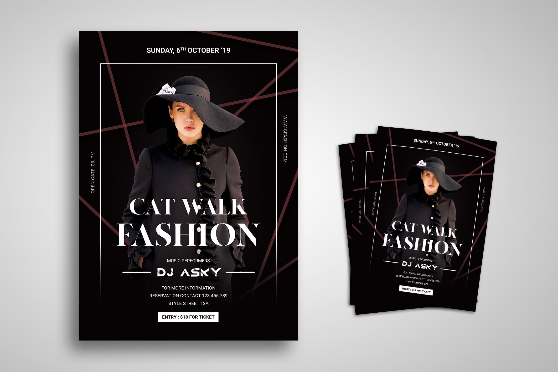 Flyer Template - Fashion Catwalk