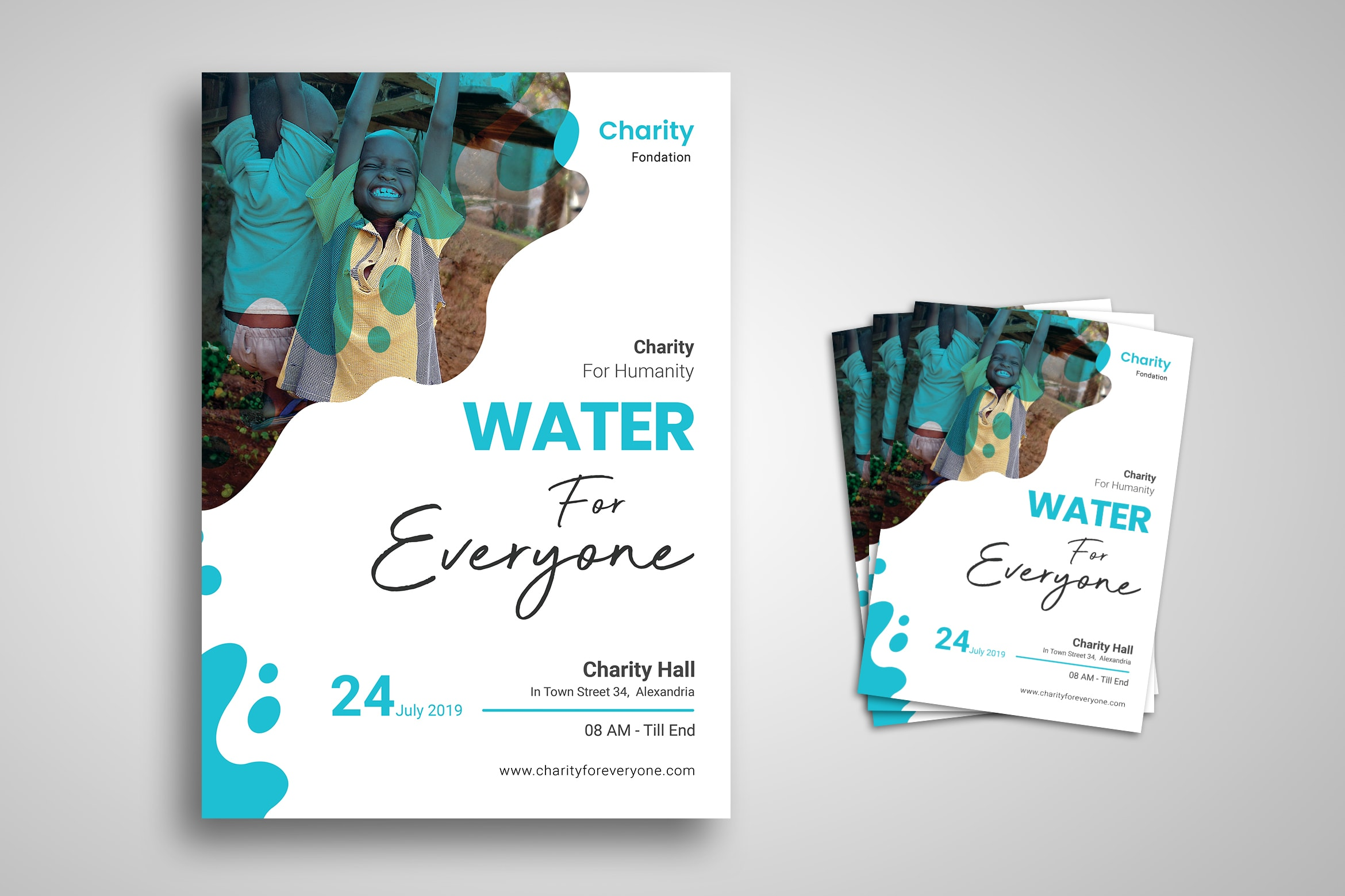 Flyer Template - Charity For Humanity