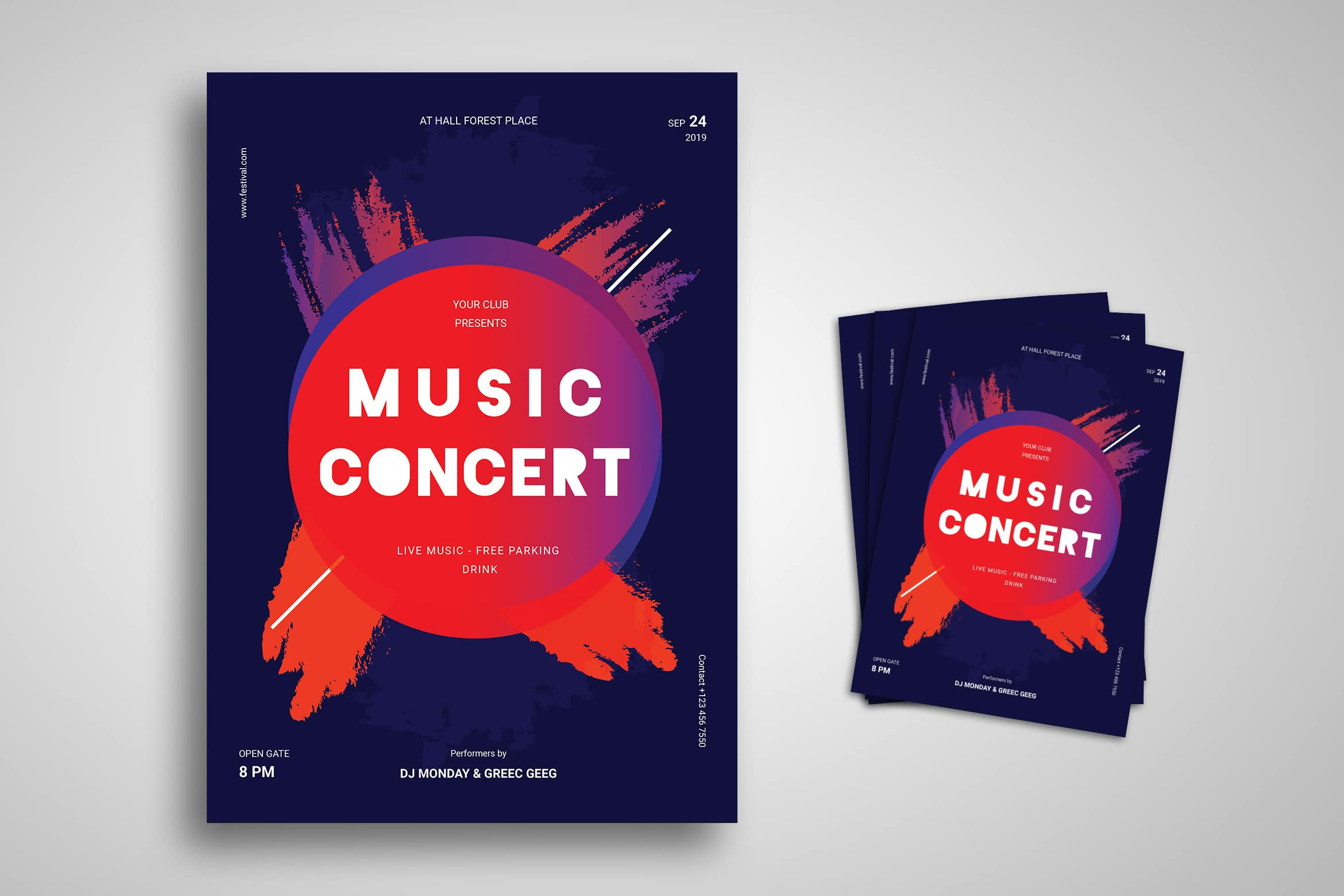Flyer Template - Music Concert Event
