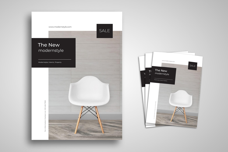 Flyer Template - Modern Style Design