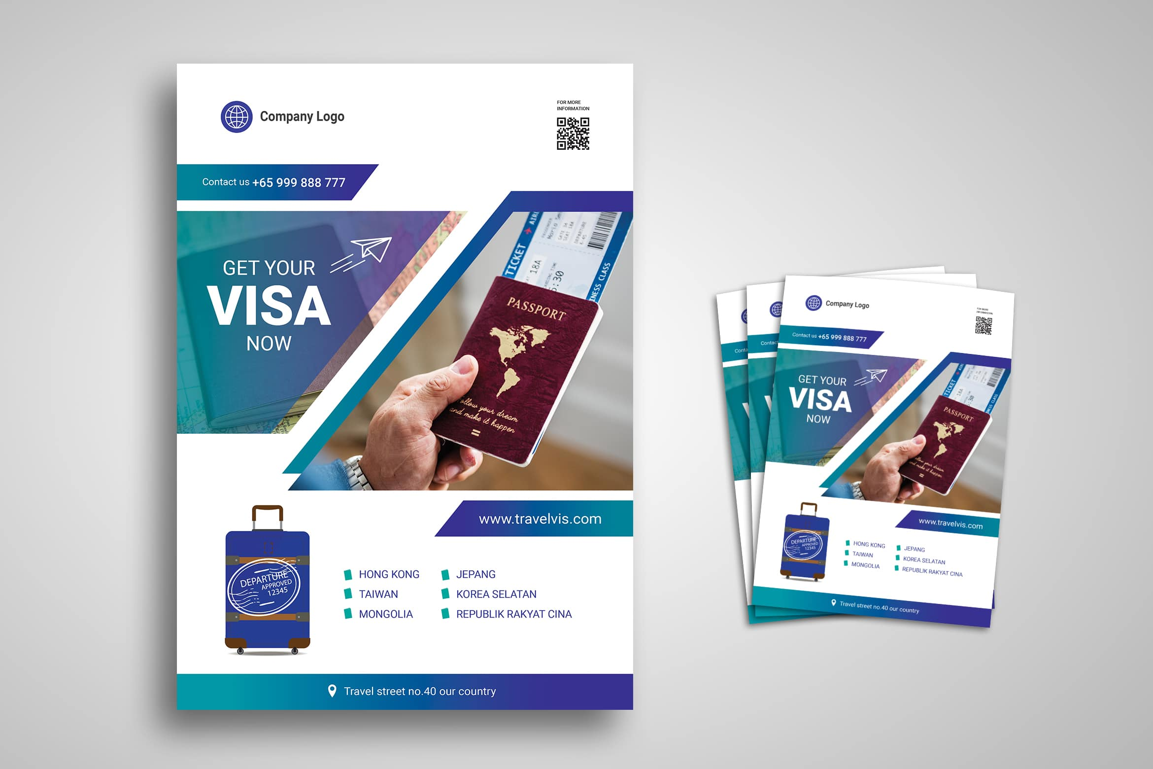 flyer Template - Tour and Travels