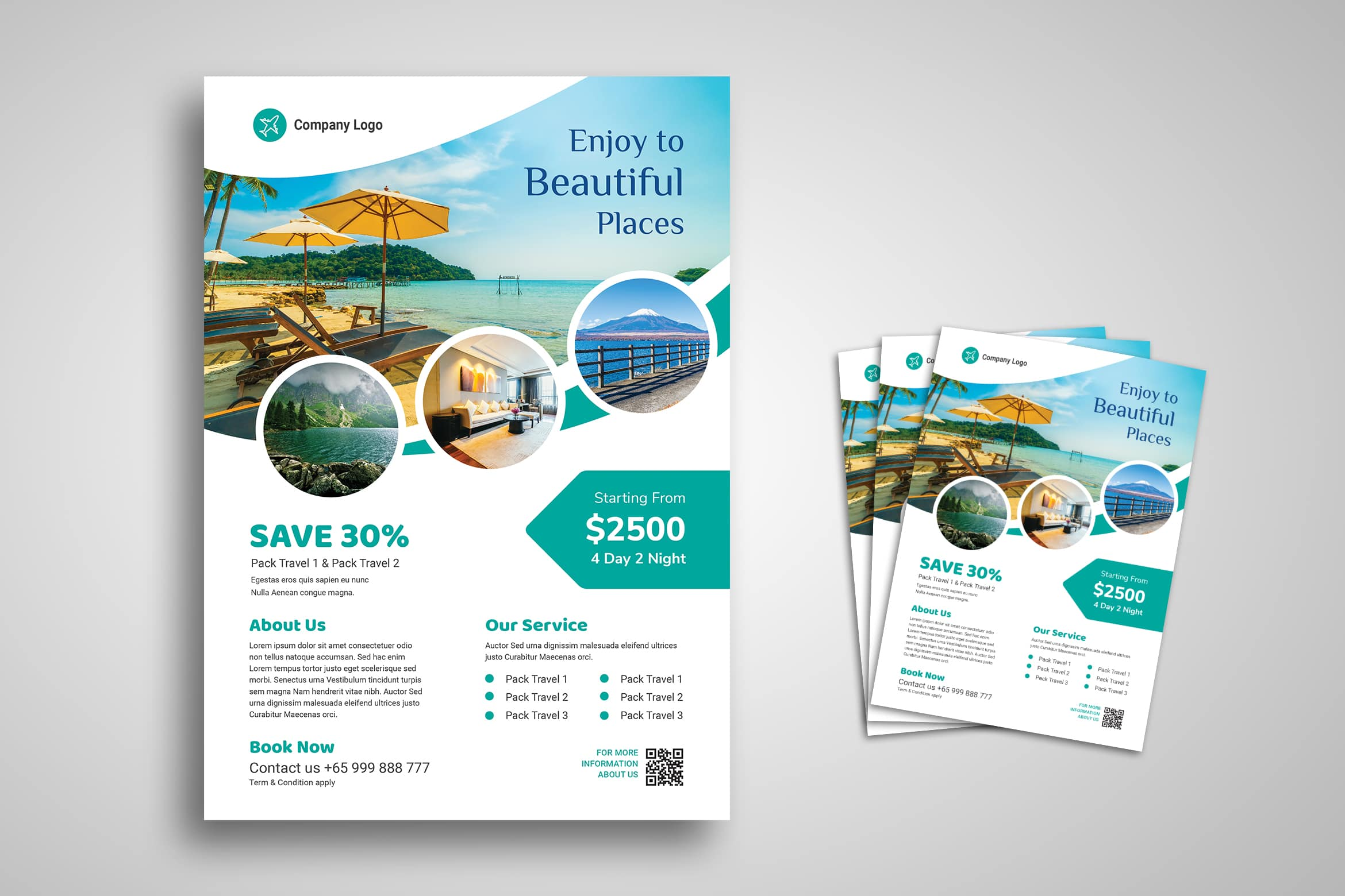 Flyer Template - Travel Holiday