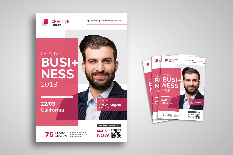 Flyer Template - Business Forum