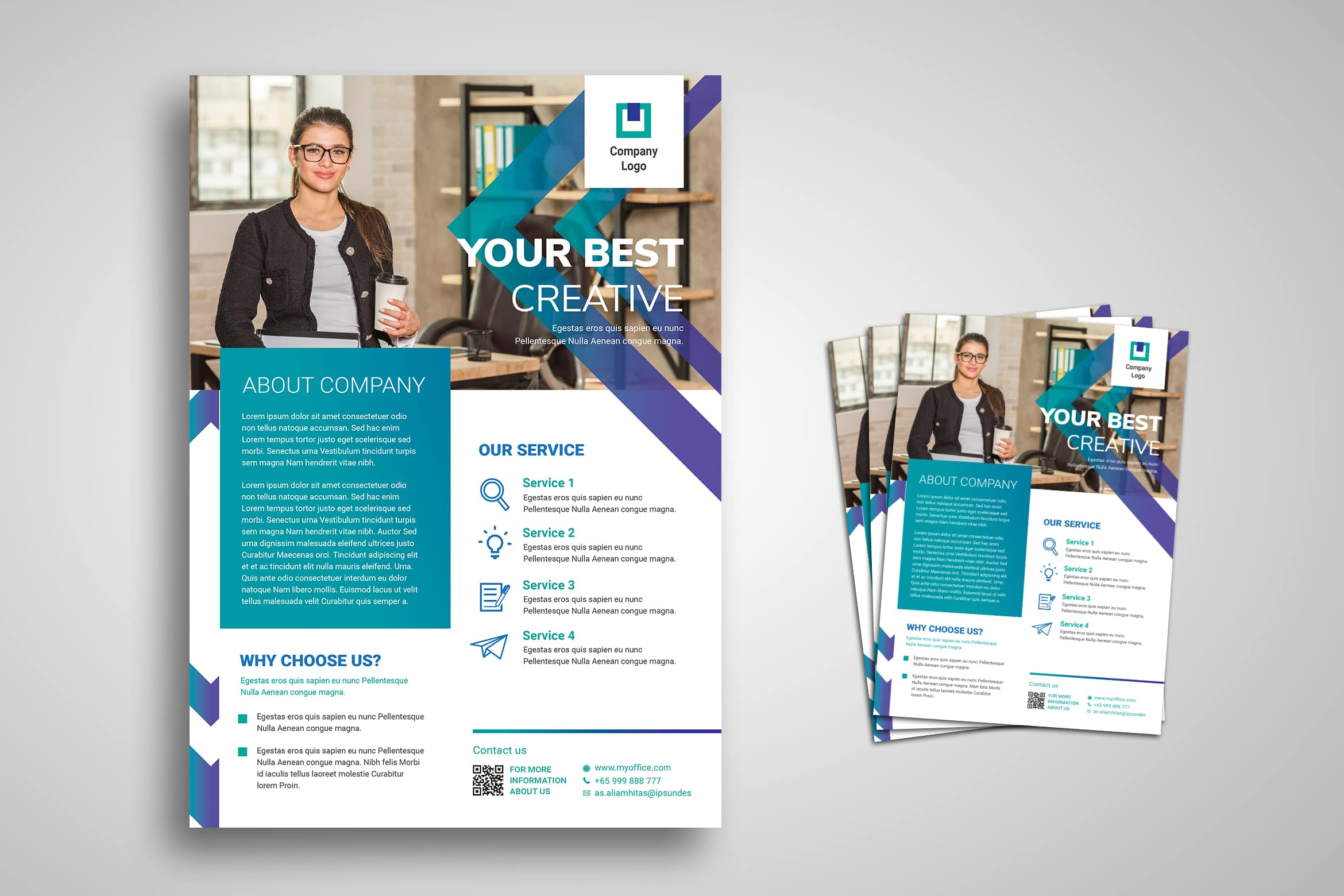 Flyer Template - Best Creative Company