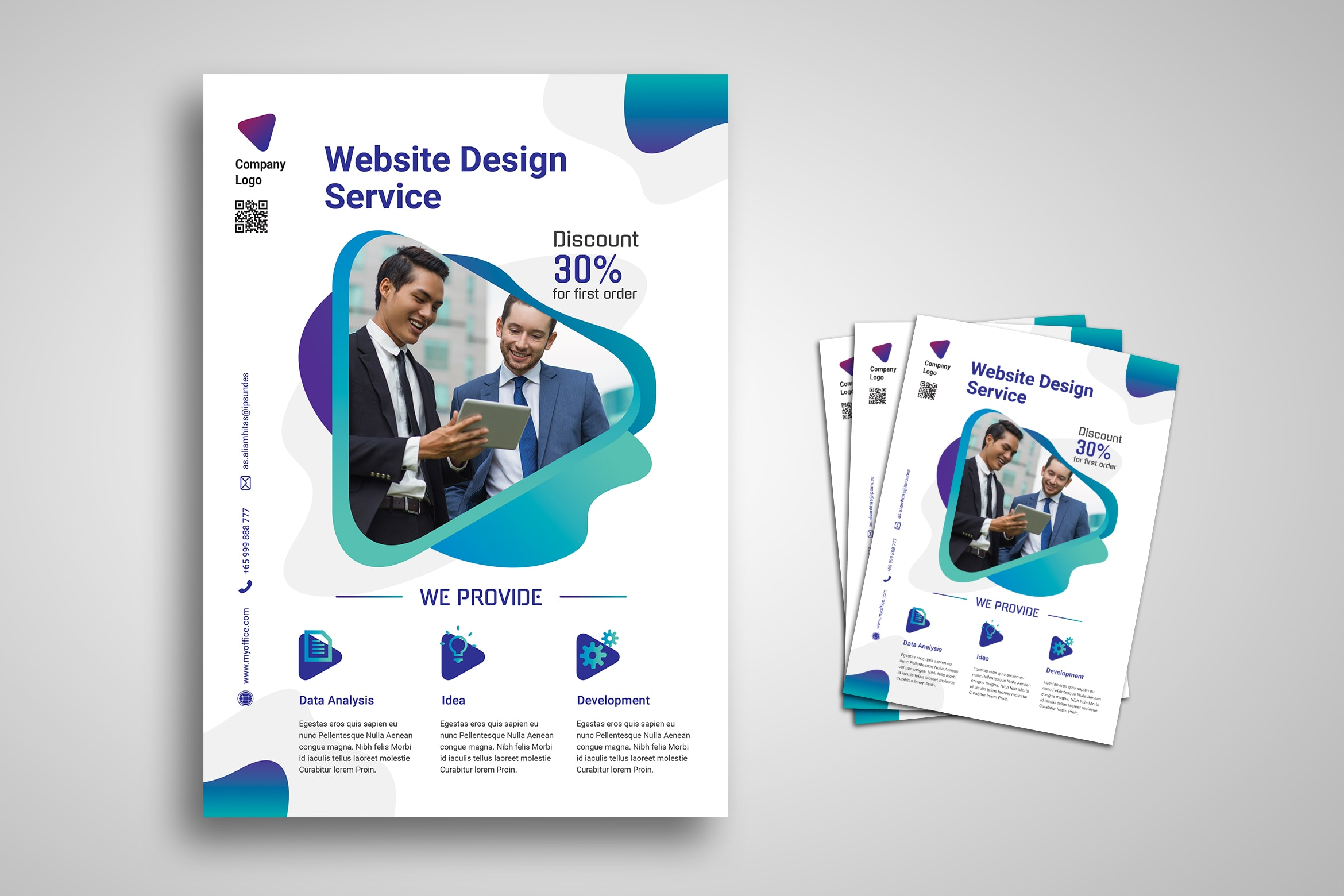 Flyer Template - Corporate Service