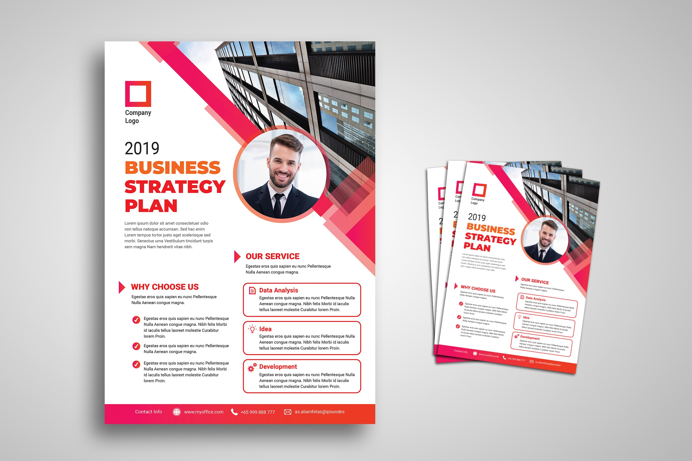 Flyer Template - Business Strategy