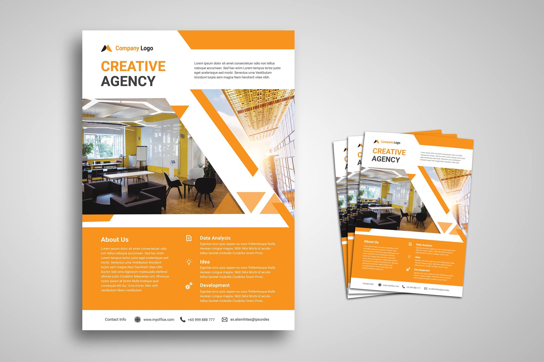 Flyer Template - Creative Agency