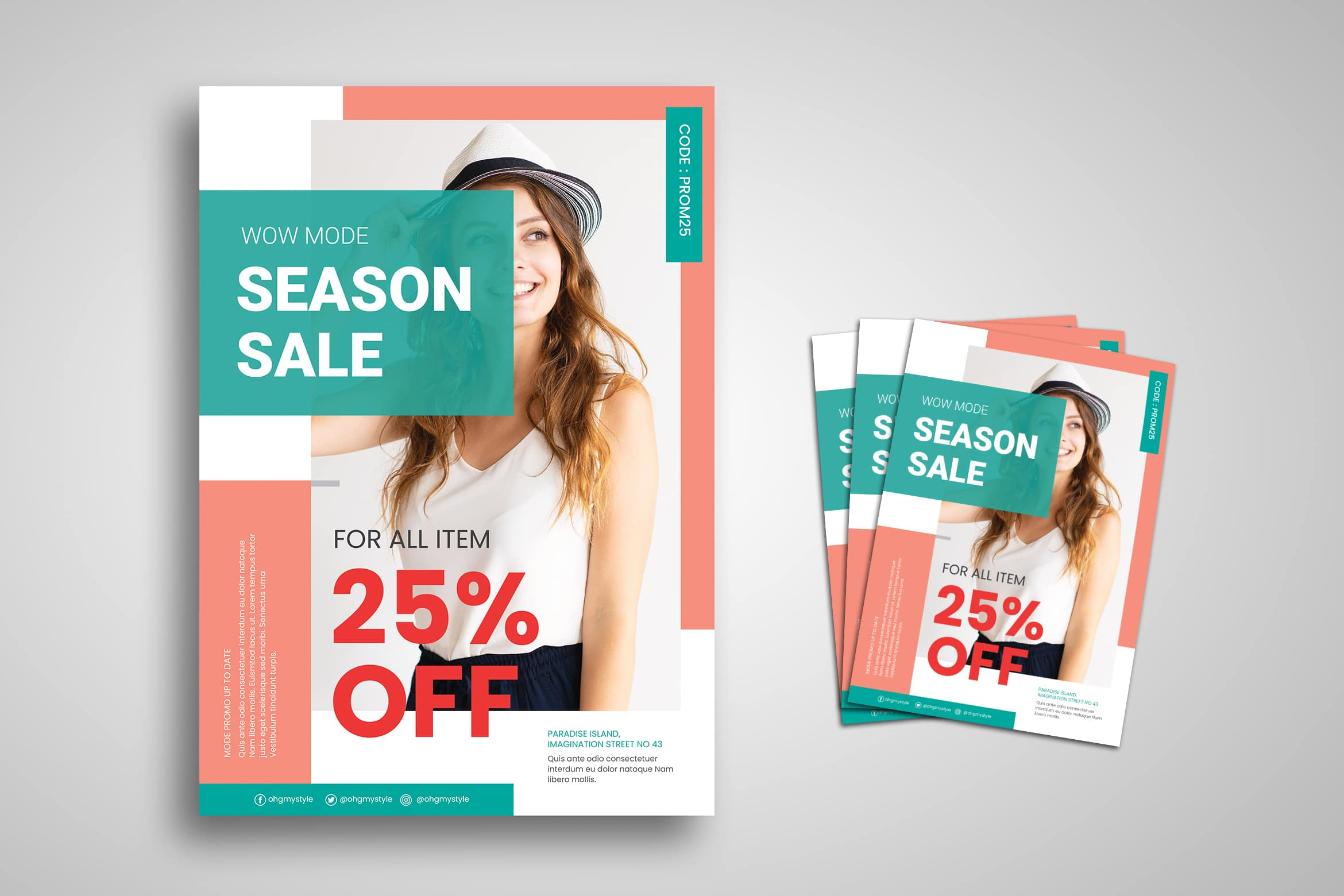 Flyer Template - Fashion Sale