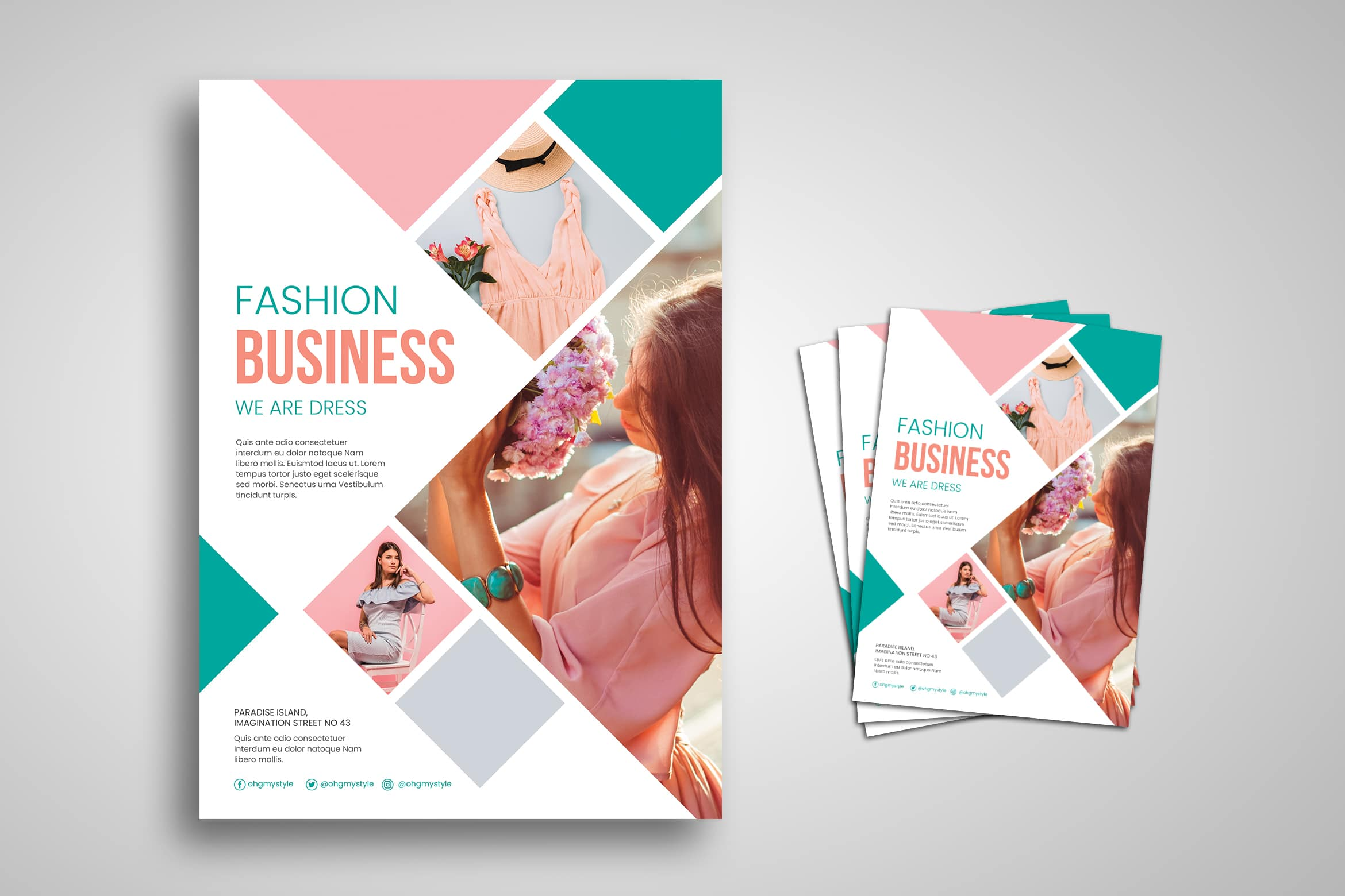 Flyer Template - Fashion Business