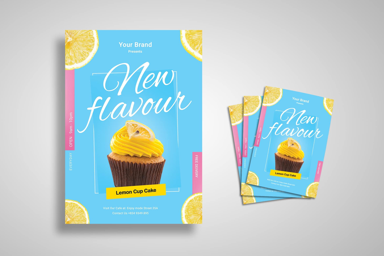 Flyer Template - Fresh Dessert