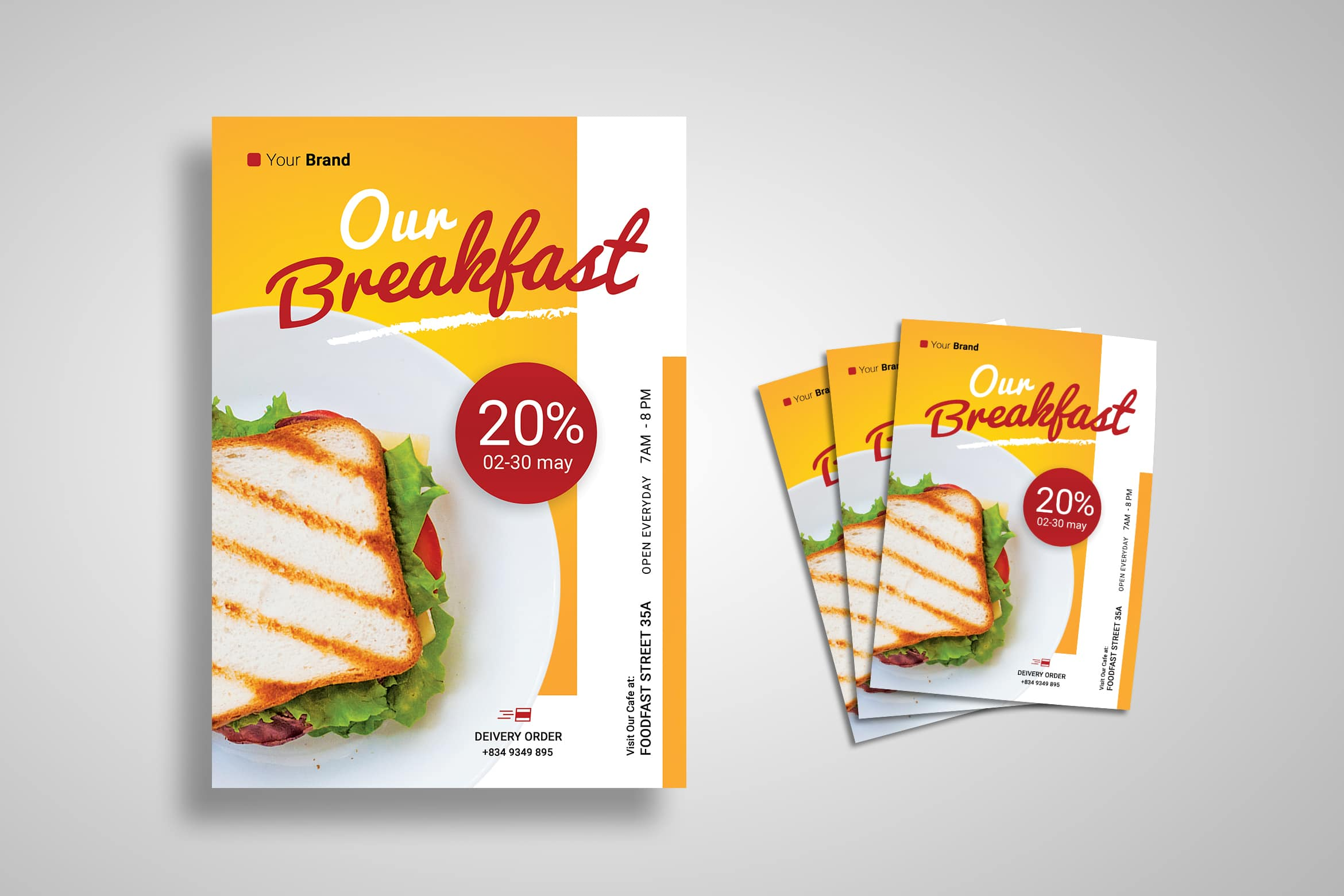 Flyer Template - Fast Food
