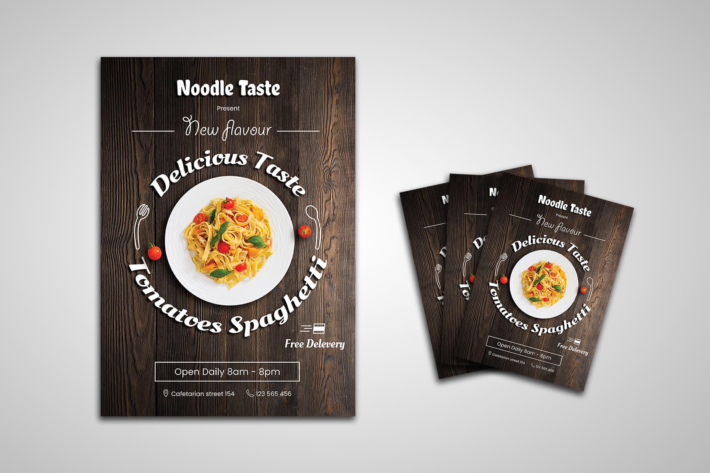 Flyer Template - Noodle Food