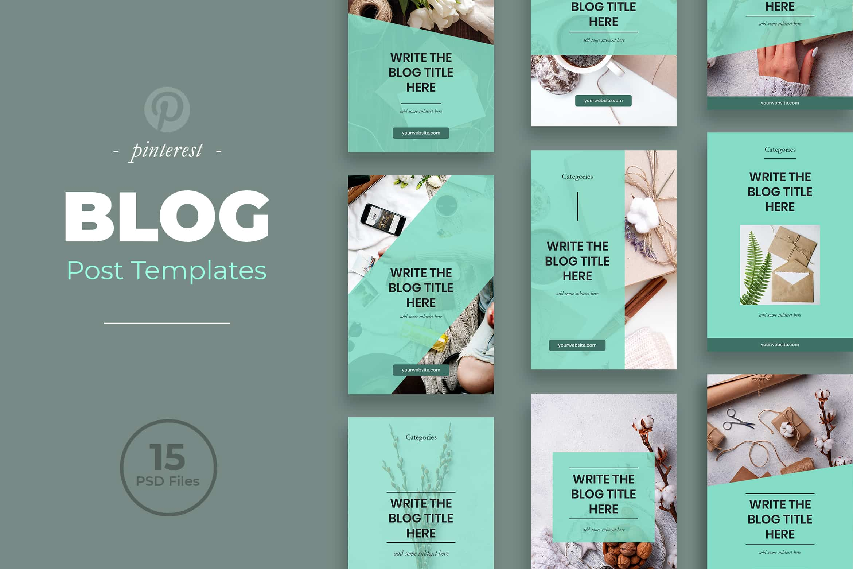 Pinterest Template - Blog Post