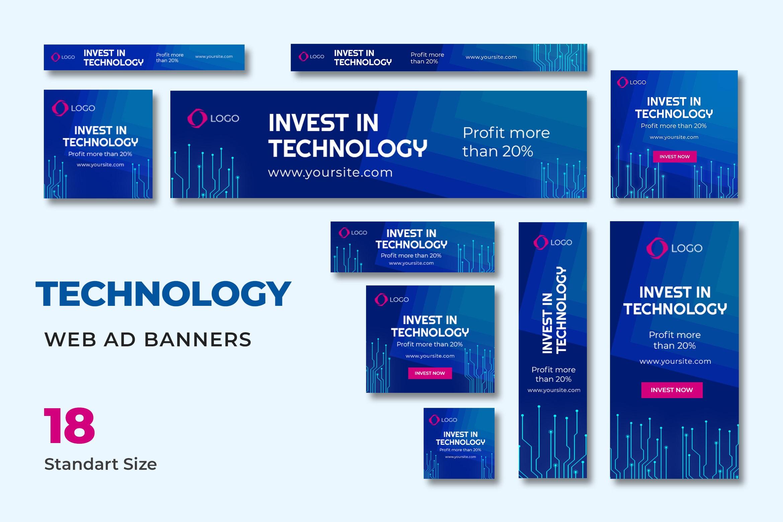 Web Banner - Network Technology