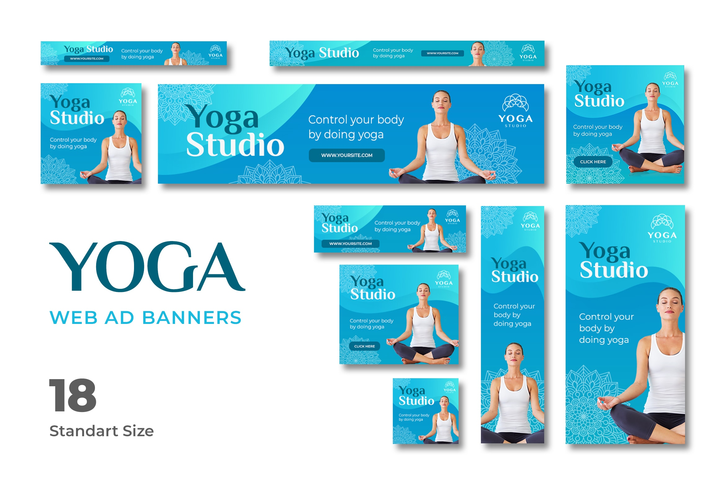Web Banner - Yoga Center
