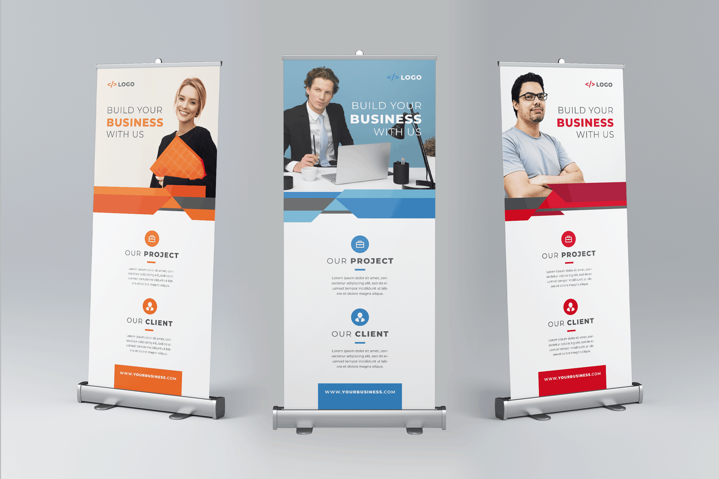 Roll Up Banner - Business Project