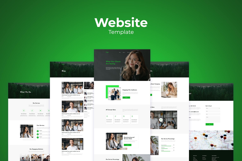 Website Template - Smart Business Solution