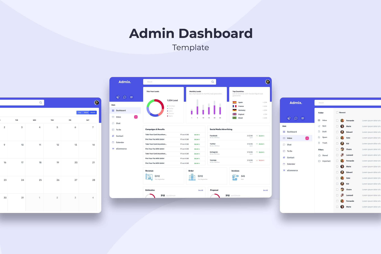 Admin Dashboard - Social Media Advertising