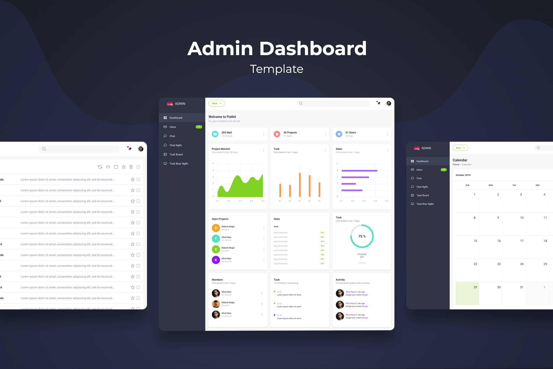 Admin Dashboard - Project Task Analytics