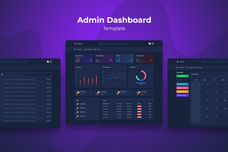 Admin Dashboard - Sales Statistics