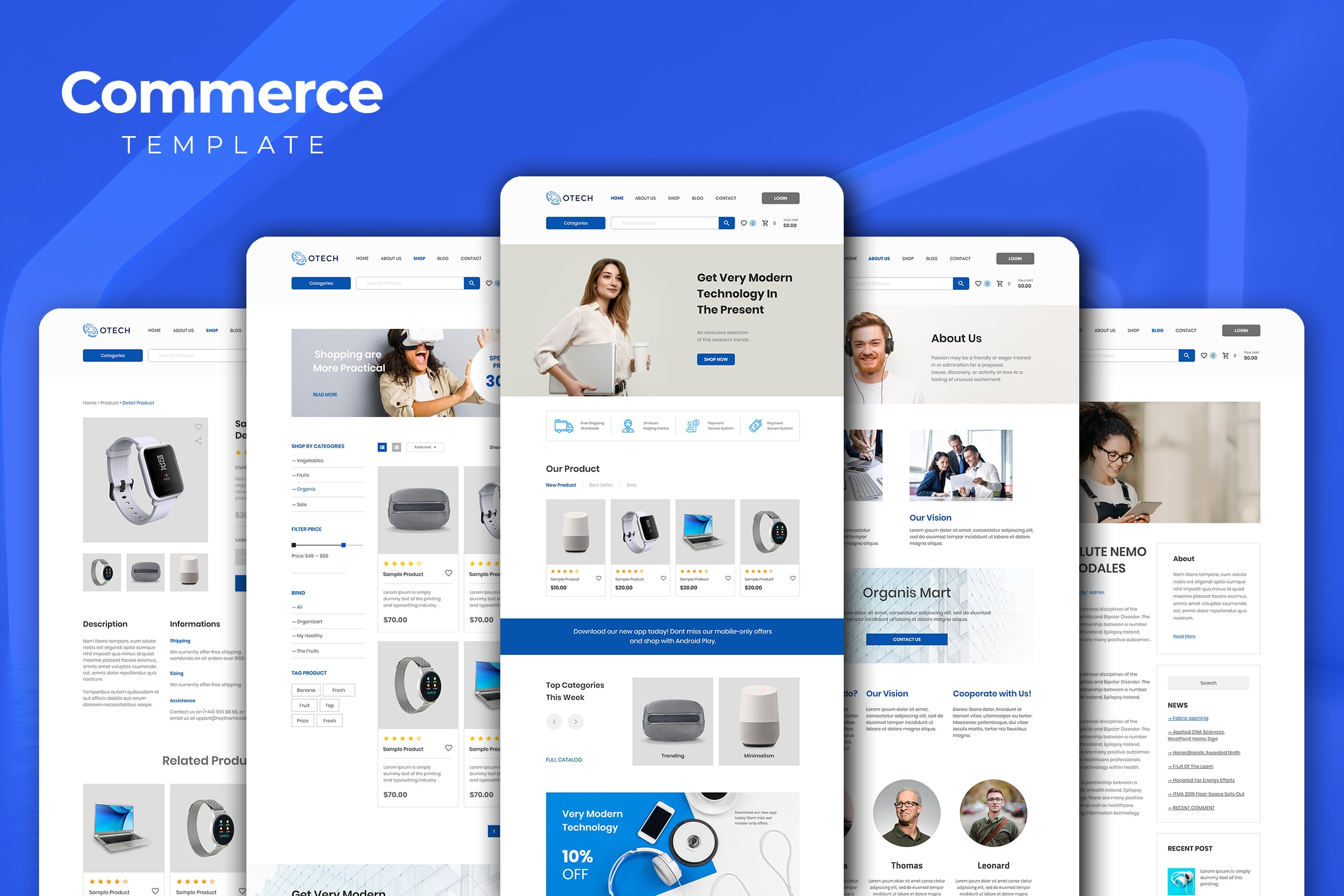 Web Commerce - Electronic Gadgets Store