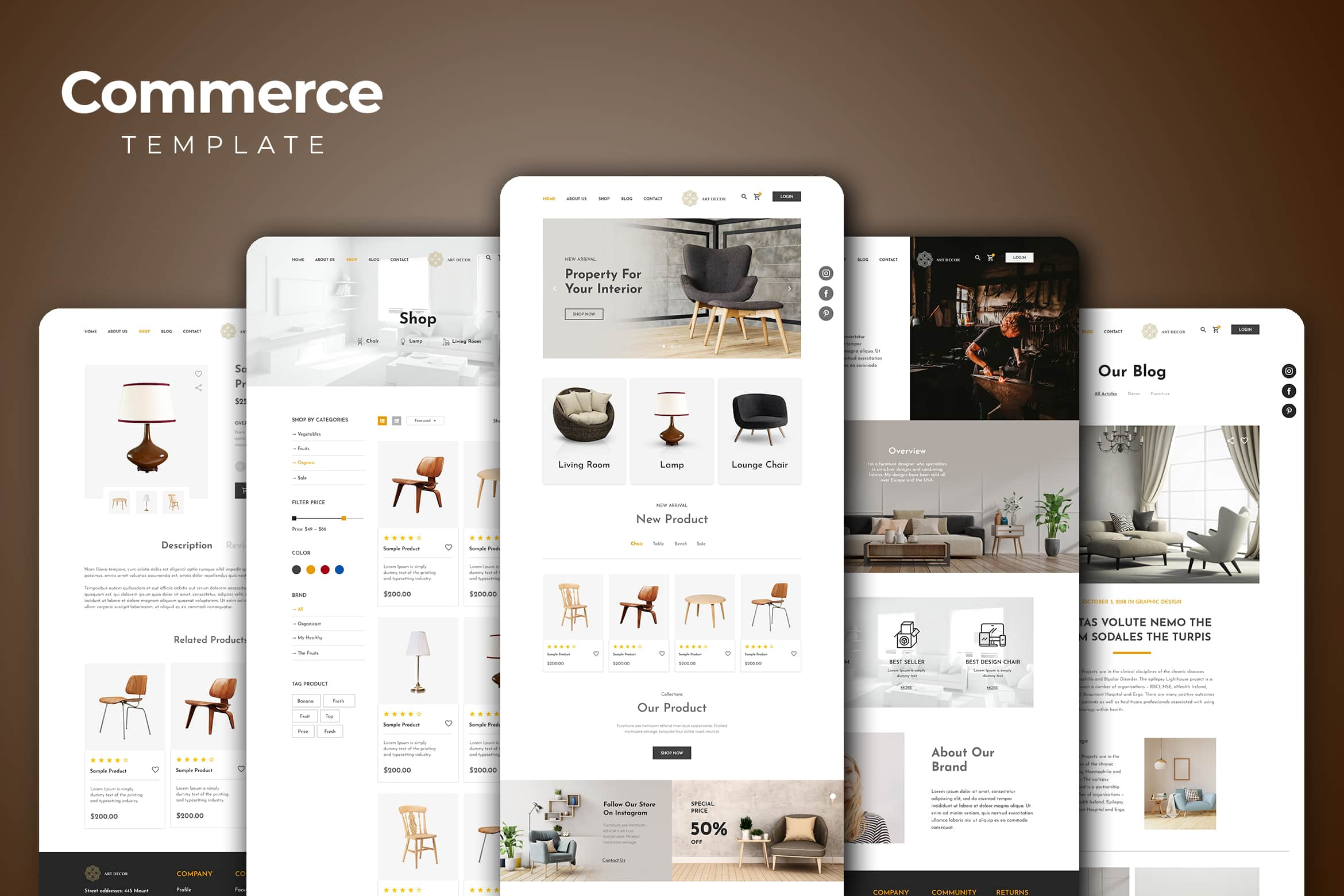 Web Commerce - Property Gallery