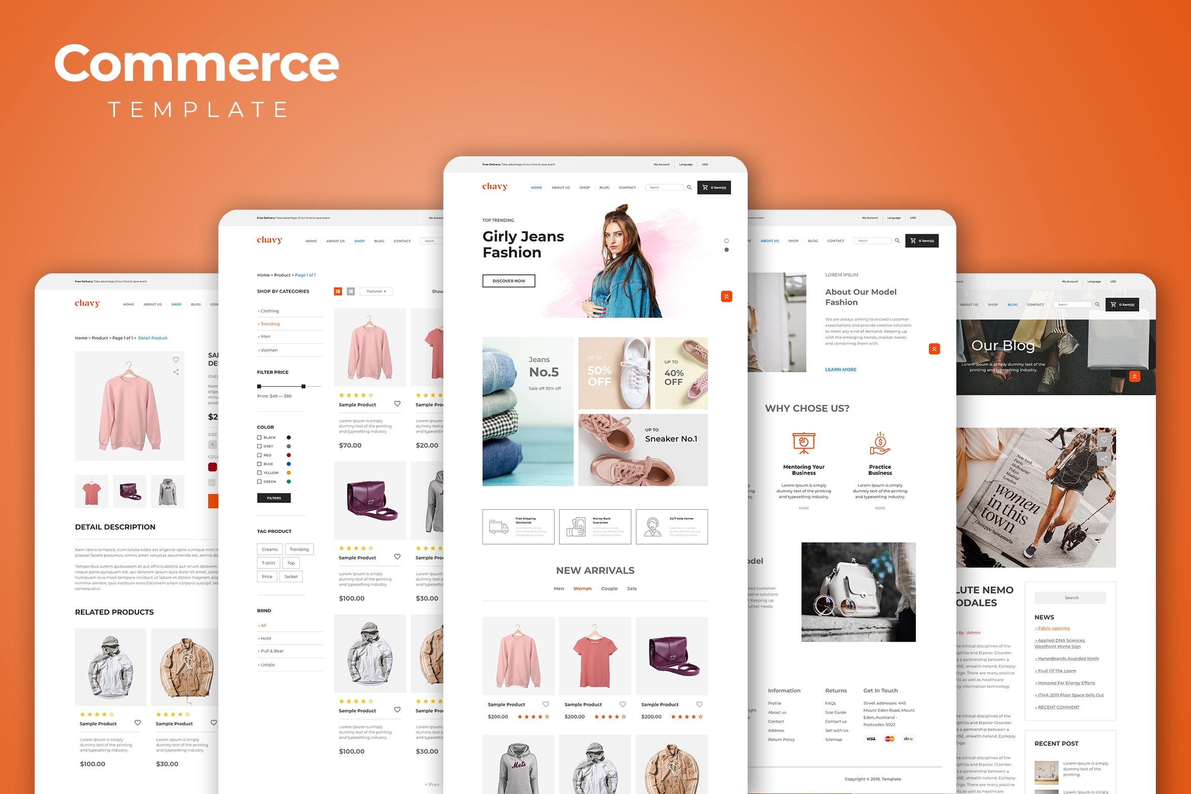 Web Commerce - Girls Apparel