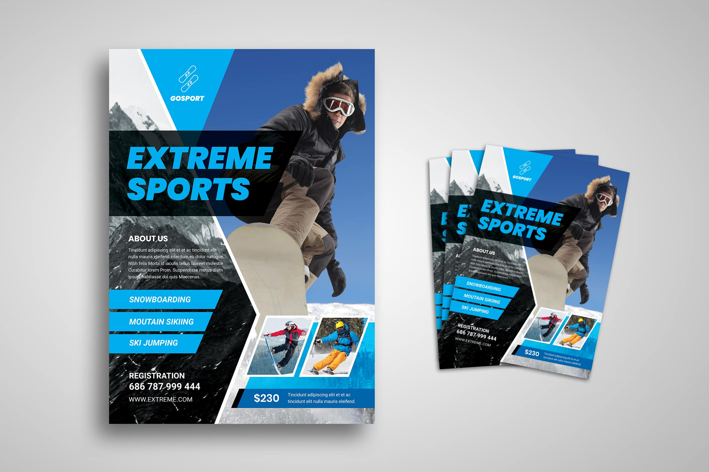 Flyer Template - Extreme Sport