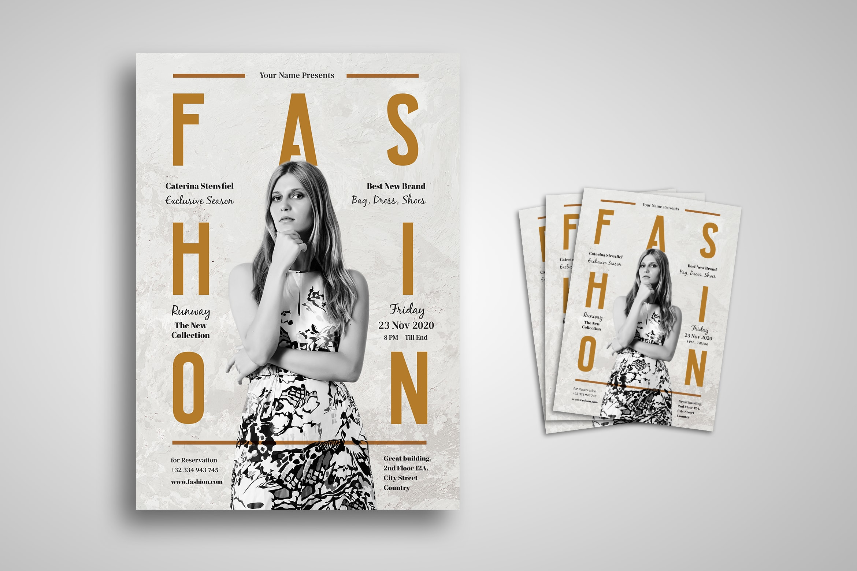 Flyer - Fashion Live