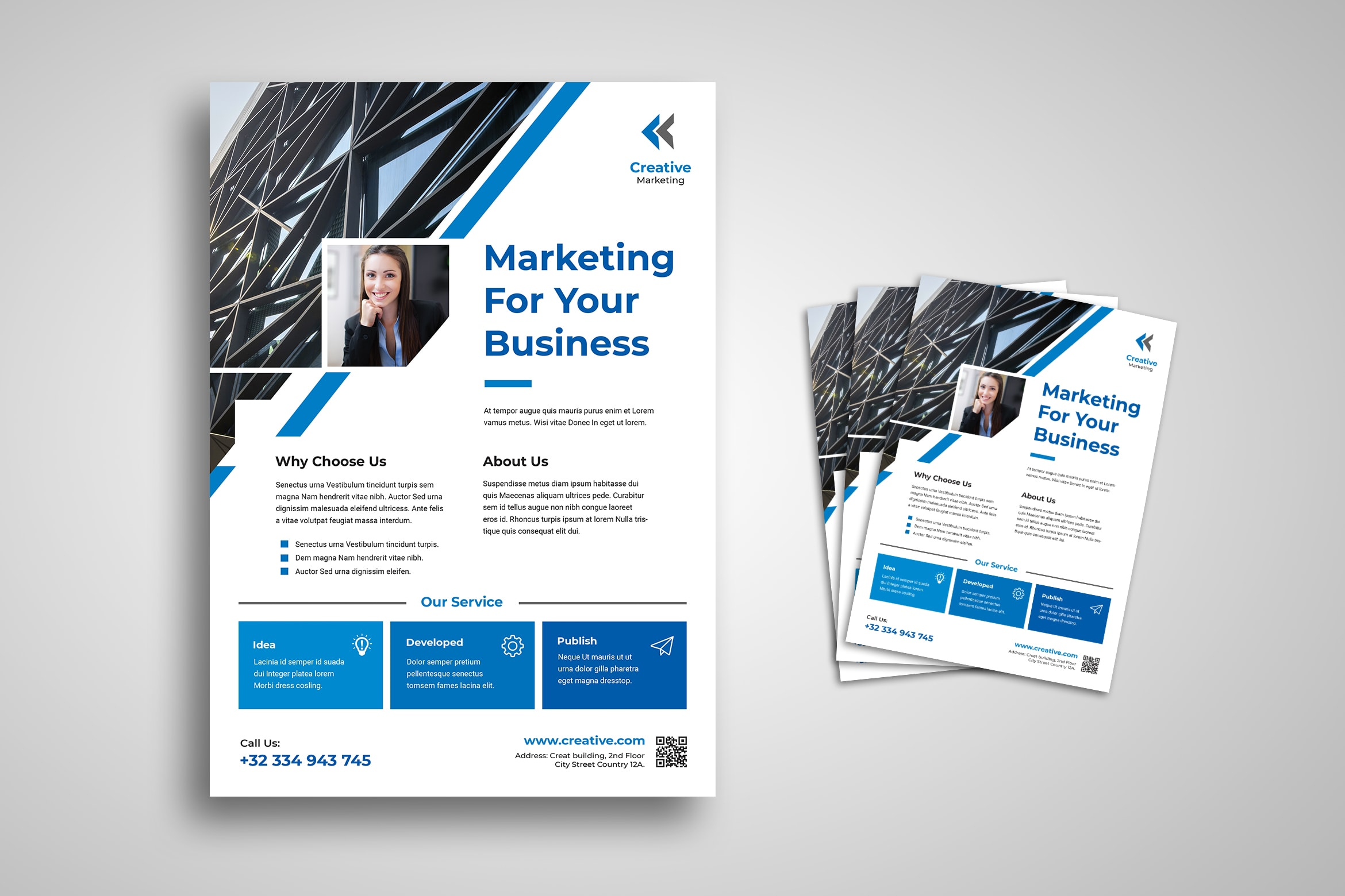 Flyer Template - Advertisement Strategies