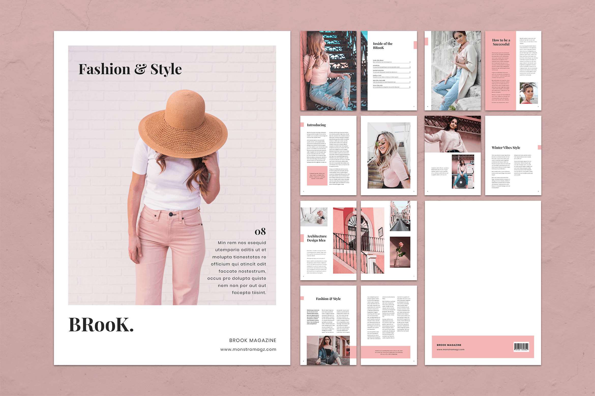 Magazine Template - Young Style