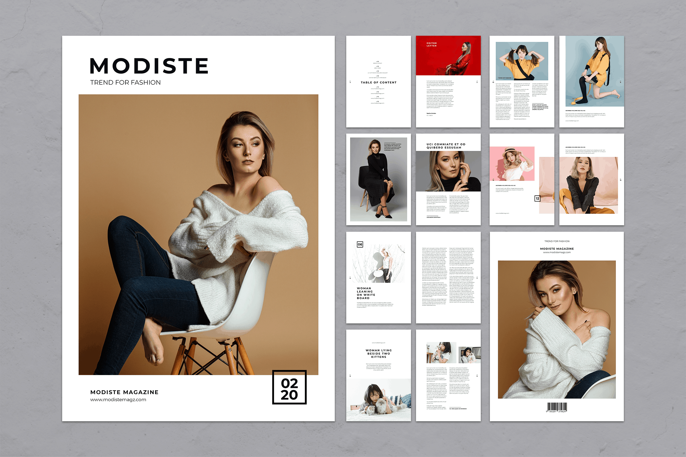 Magazine Template - Trend Fashion