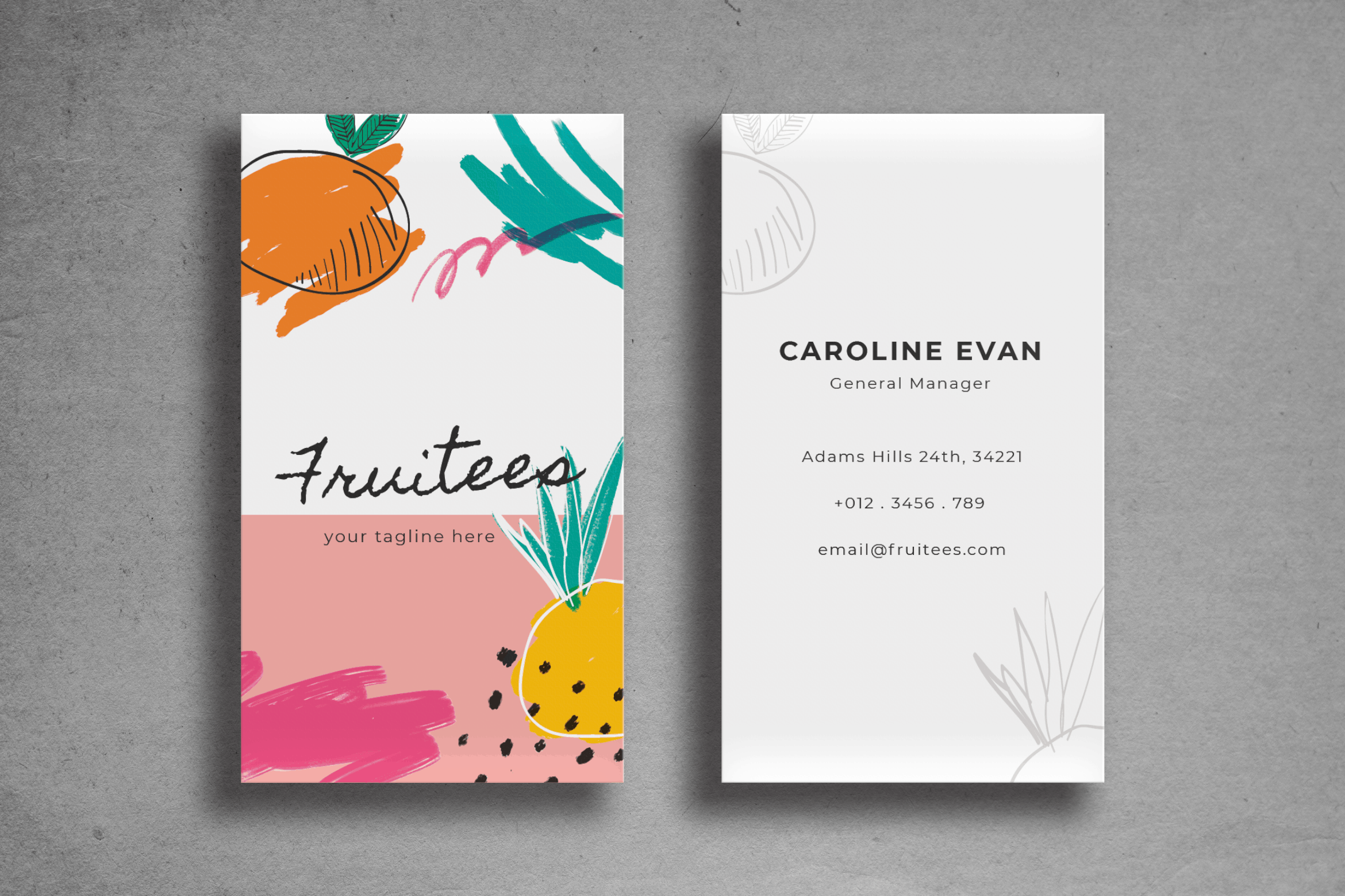 Business Card – Fresh Template