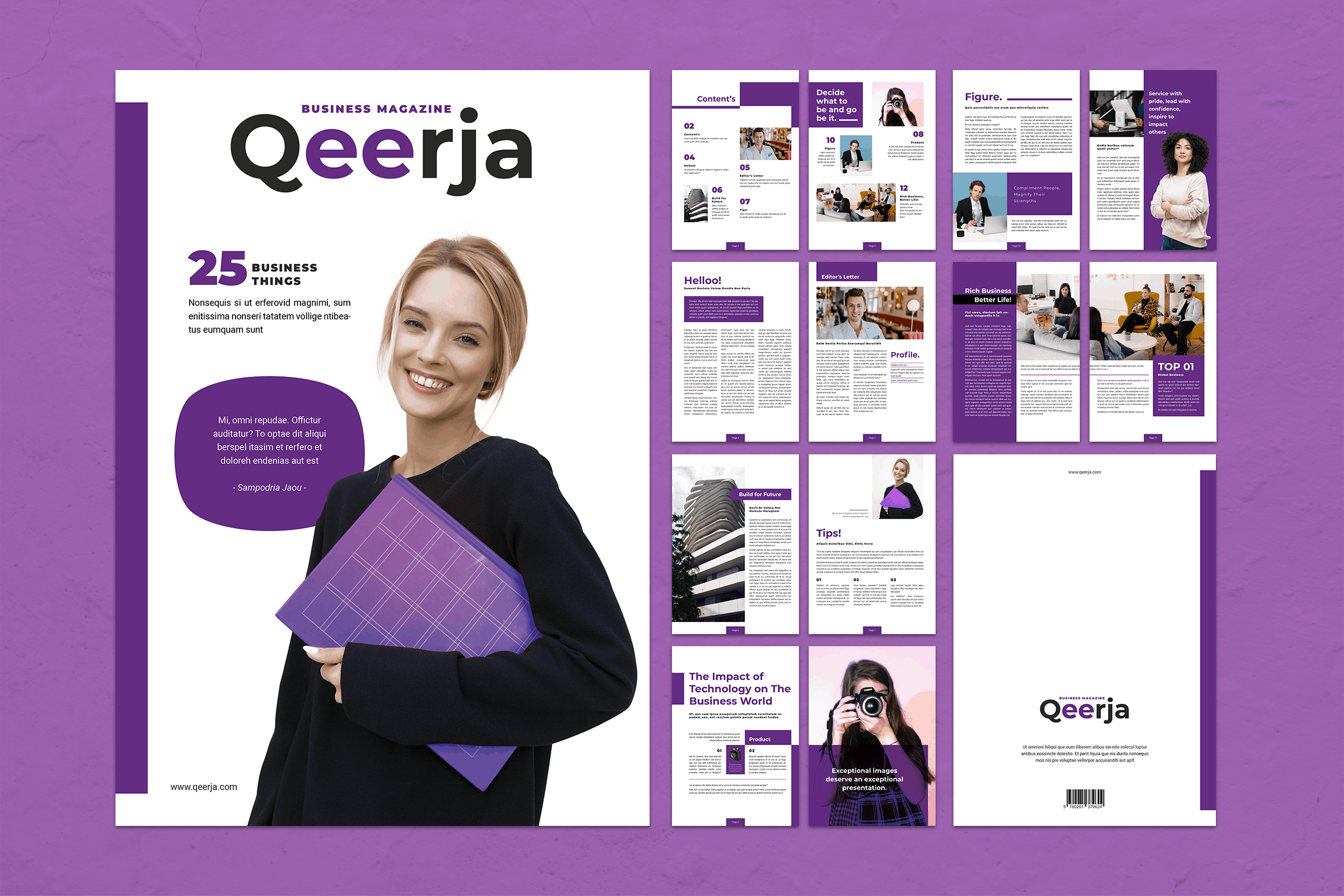 Magazine Template - Business Update