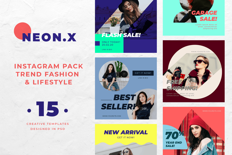 Instagram Banner - Fashion Trend Pack