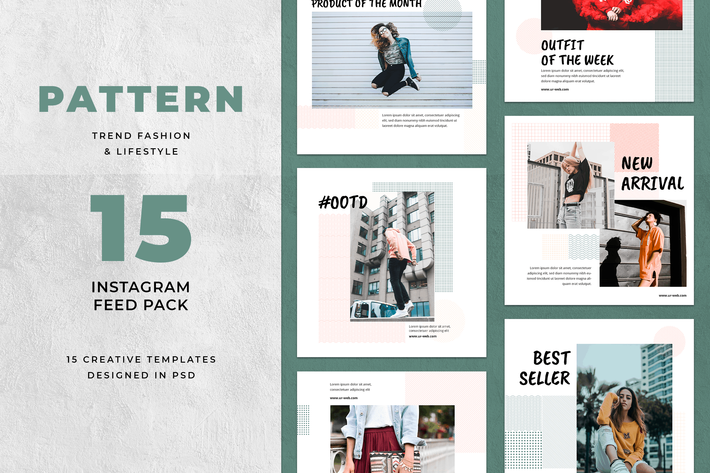 Instagram Banner - Pattern Theme