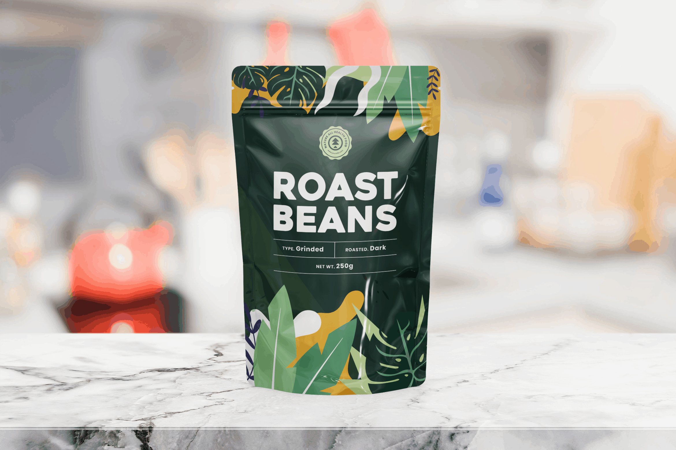 Packaging Template - Roast Beans