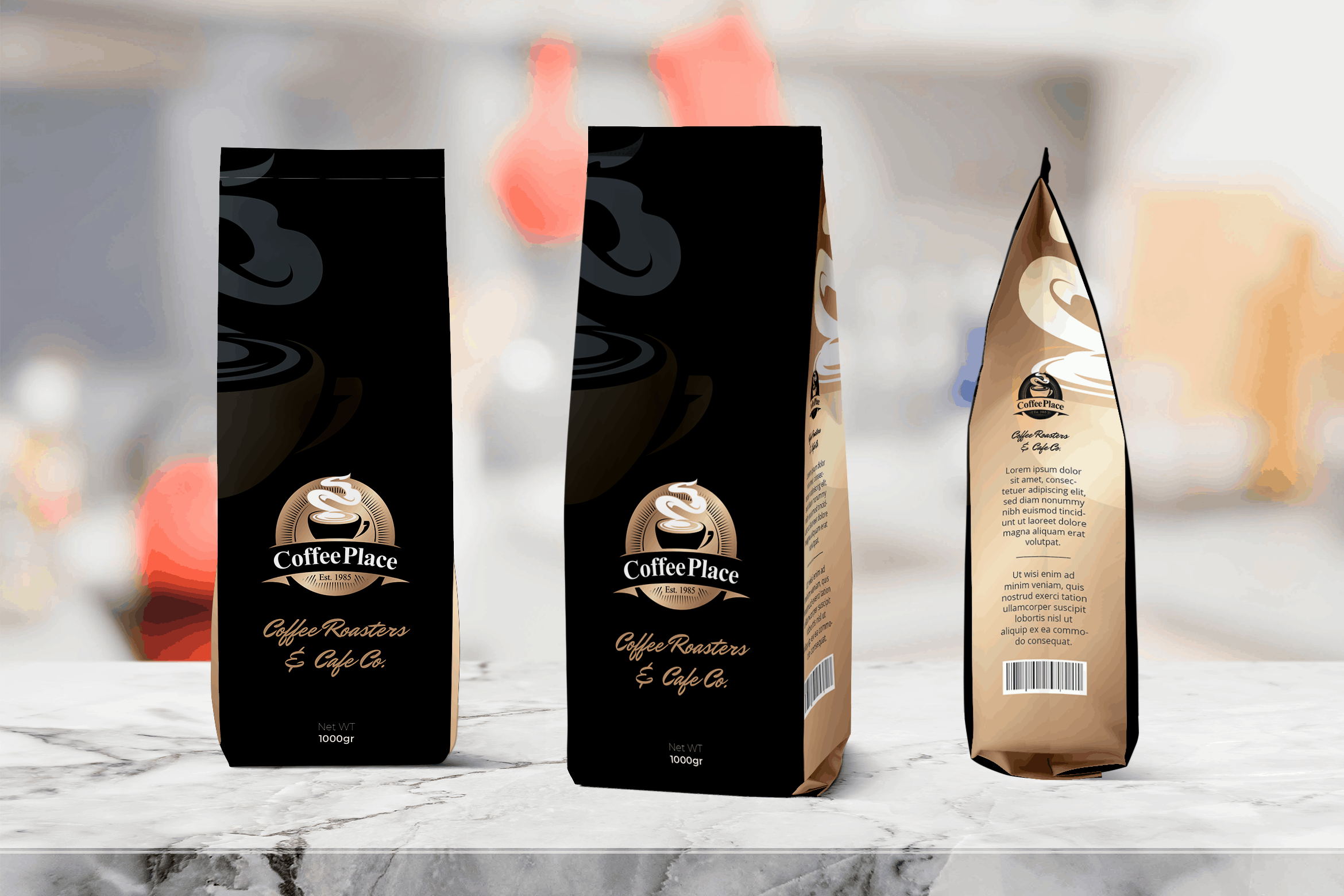 Packaging Template - Black Coffee