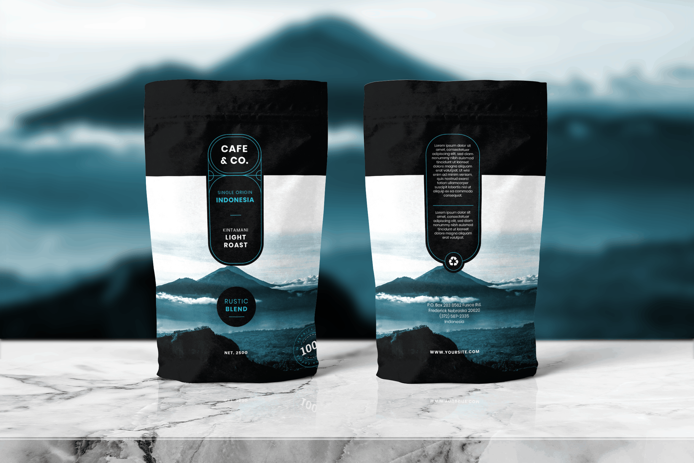 Packaging Template - Original Coffee