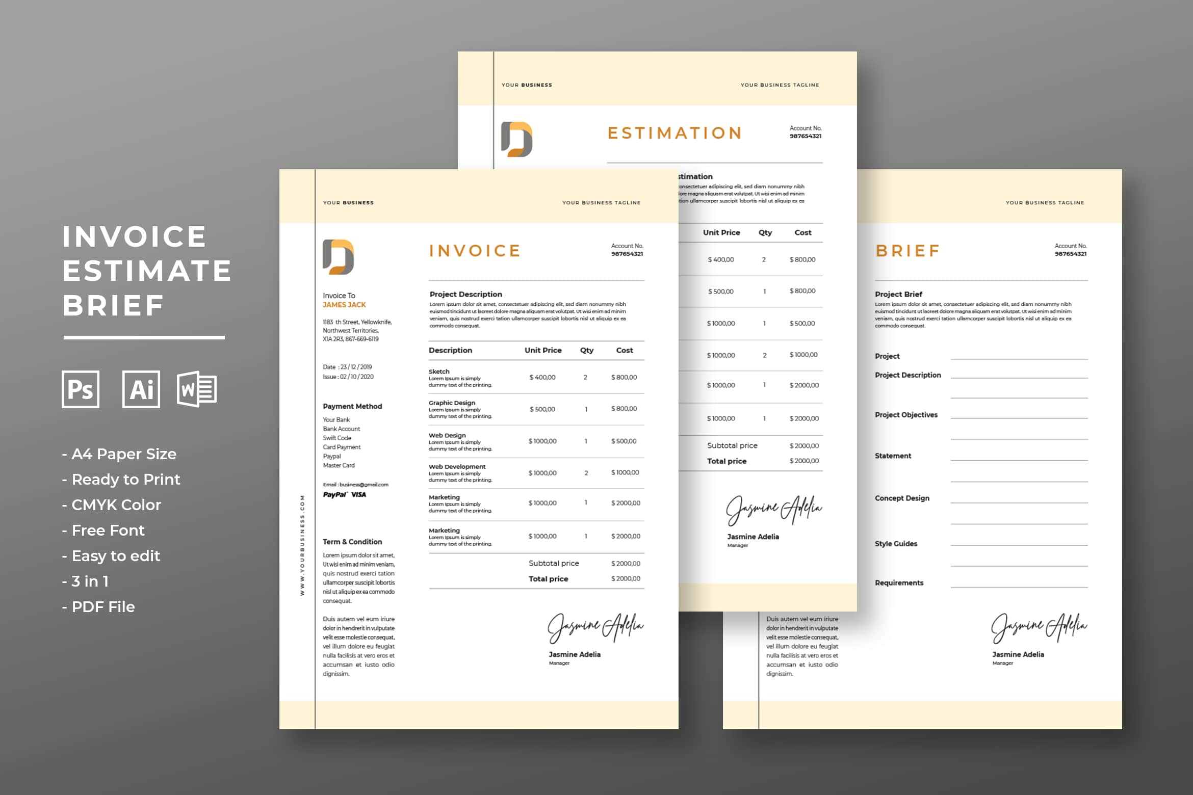 Invoice - Creative Project Services