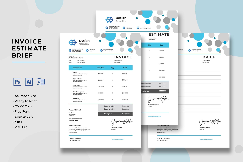 Invoice - Graphic Design Services