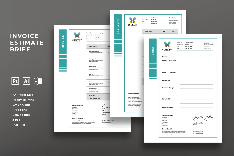 Invoice - Digital Content Company
