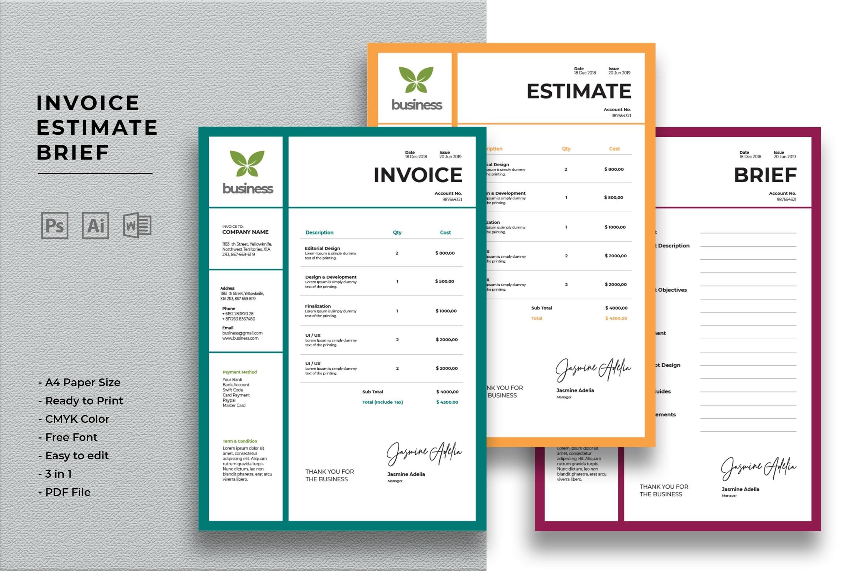 Invoice - Creative Business