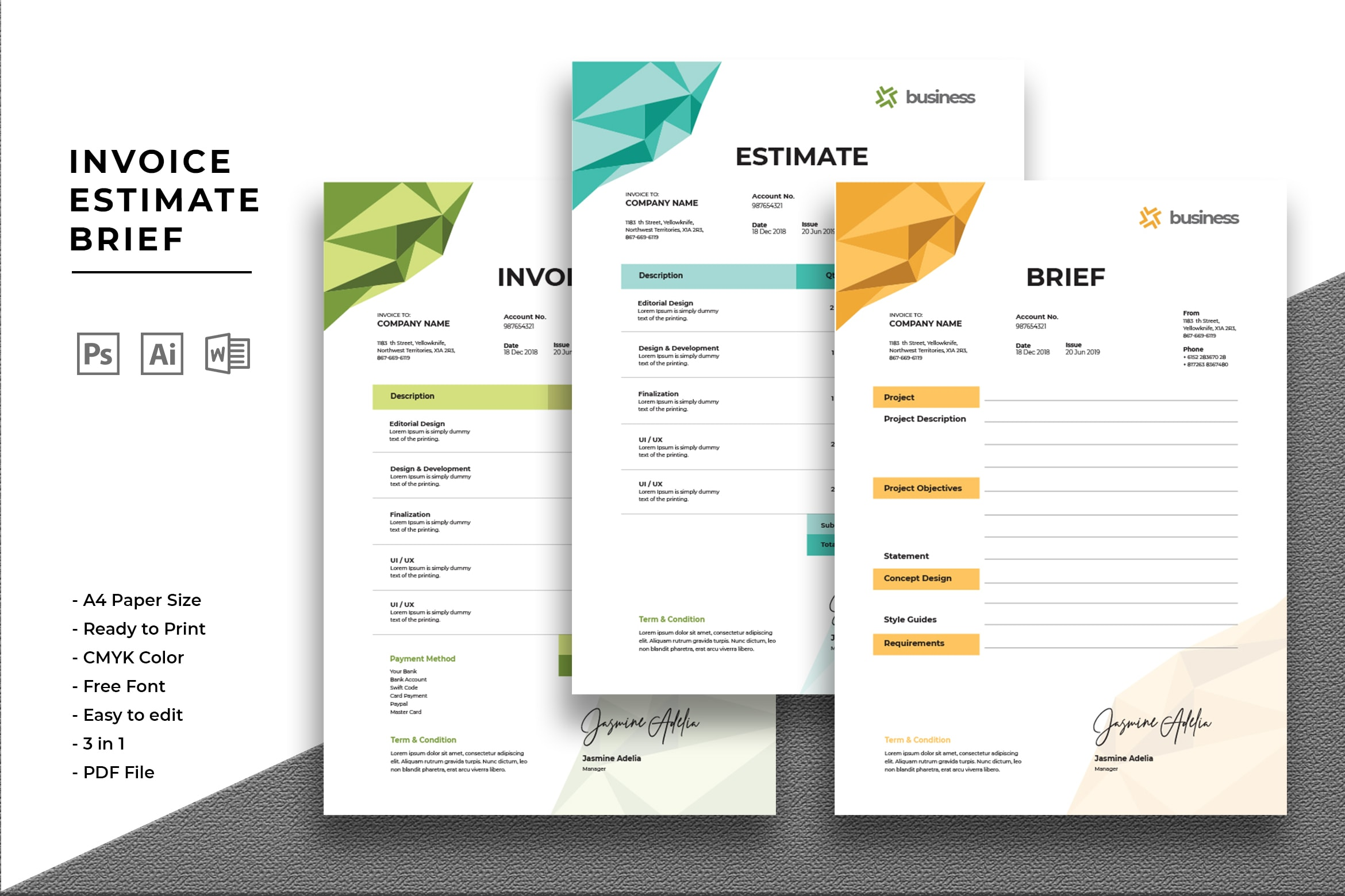 Invoice - Digital Business