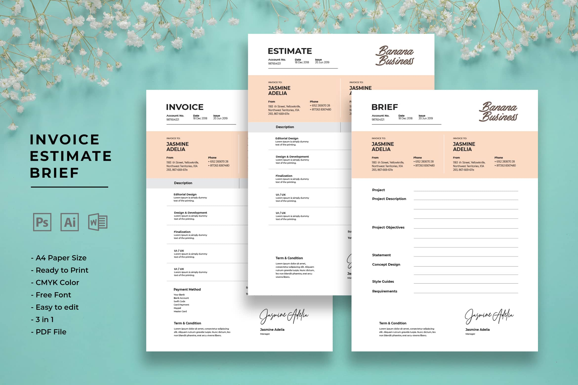Invoice - Creative Projects