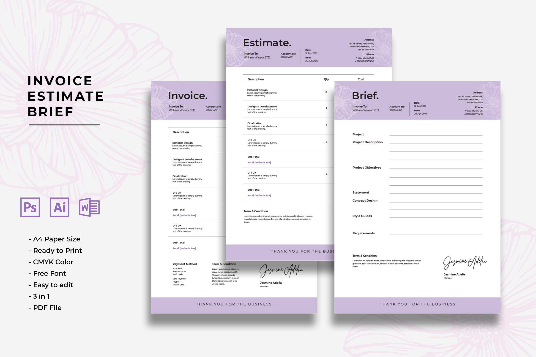 Invoice - Design Project