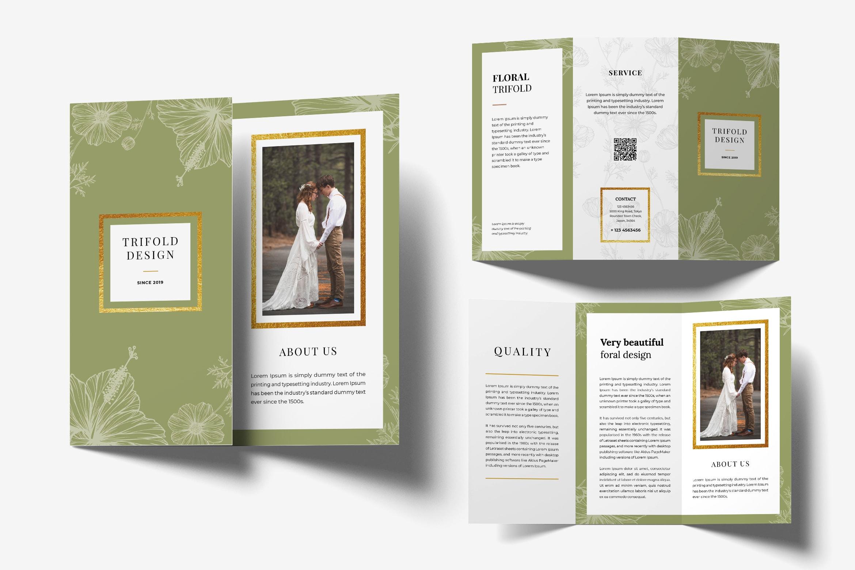 Trifold Brochure - Wedding Photography
