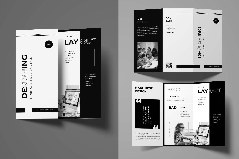 Trifold Brochure - Minimalism Design