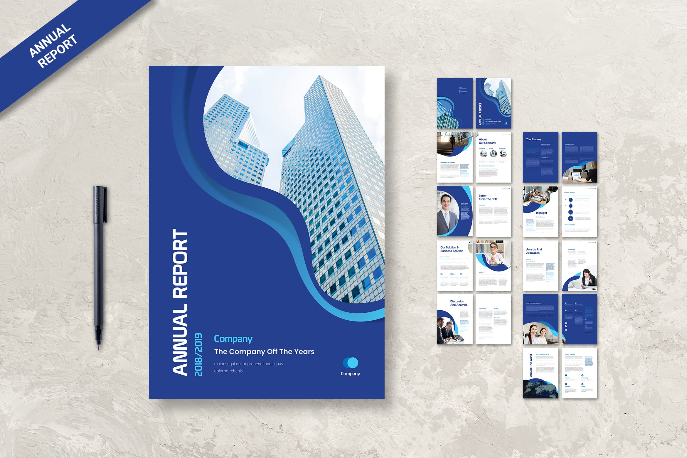 Annual Report - Companies Identity